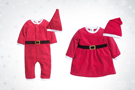 Babymode Winter 2014: Weihnachtskostüme für Babys