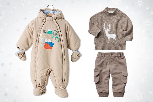 Babymode Winter 2014: Mit Tier-Motiven