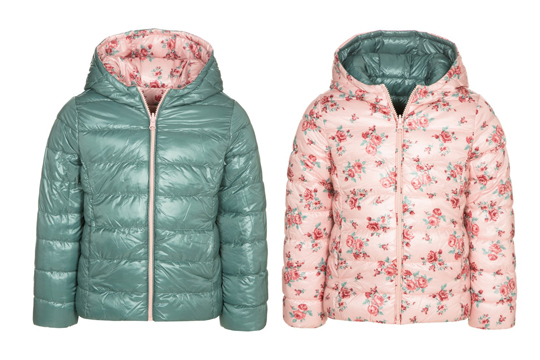 Benetton Baby-Winterjacke zum Wenden