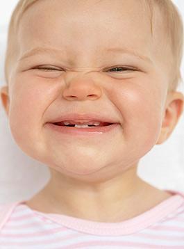 Die ersten Zähne beim Baby
