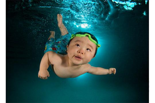 Babys unter Wasser: Michael G.