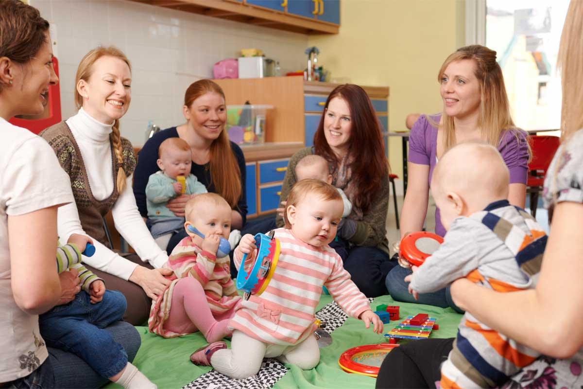Babys in der Kindermusikhölle