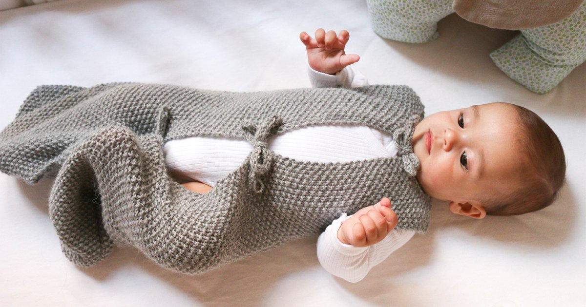 Babyschlafsack Stricken Familiede