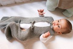 Babyschlafsack stricken