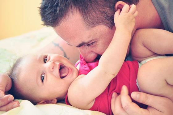 Spielideen für Babys zwischen 0 und 12 Jahren sind schnell gefunden