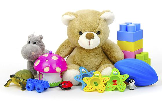 Teddy und Co. - beliebtes Baby-Spielzeug