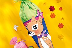 Schultüte mit Bambi-Motiv