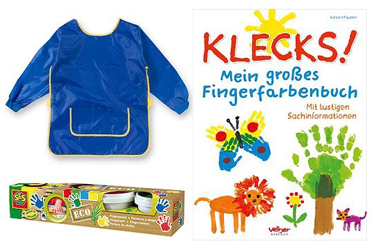 Klecks! Mein großes Fingerfarbenbuch