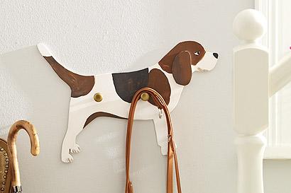 Beagle-Garderobe selber basteln