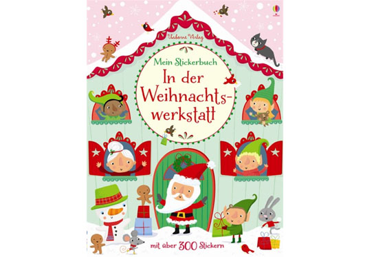 Weihnachtsbücher für Kinder: Besuch in der Weihnachtswerkstatt