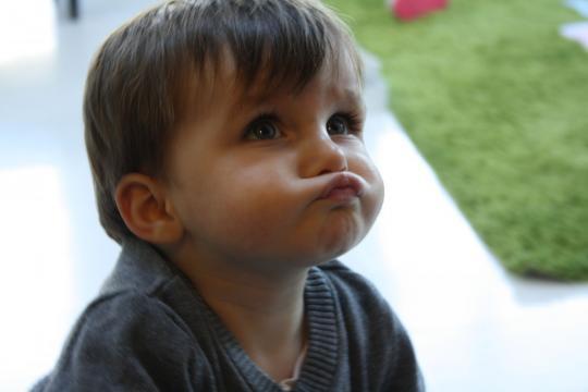 Babyfoto-Wettbewerb Oktober 2014: Étienne