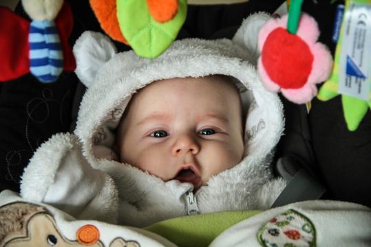 Babyfoto-Wettbewerb November 2014: Leonard