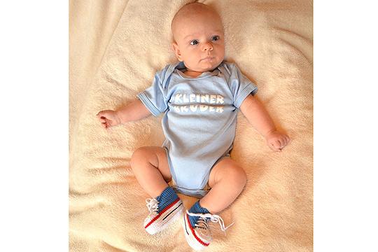 Babyfoto-Wettbewerb - 10. Platz im Januar: Cajetan