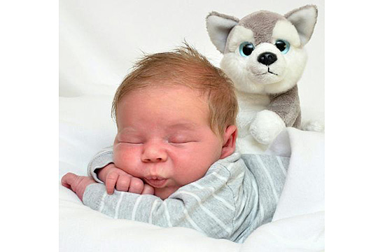 Babyfoto-Wettbewerb - 8. Platz im Januar: Kiano