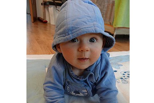 Babyfoto-Wettbewerb - 6. Platz im Januar: Paul
