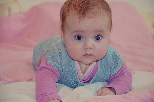 Babyfoto-Wettbewerb: 3. Platz im März 2014: Nora Liana