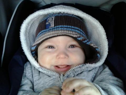 Babyfoto-Wettbewerb: 1. Platz im Mai: Jonas