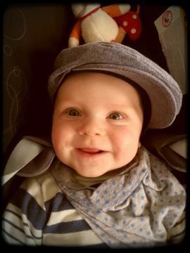Babyfoto-Wettbewerb: 2. Platz im Juni 2014: Aaron
