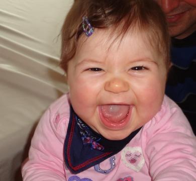 Babyfoto-Wettbewerb: 5. Platz im Juni 2014: Laura