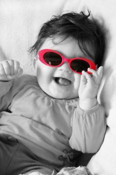 Babyfoto-Wettbewerb: 2. Platz im Juli 2014: Amelie