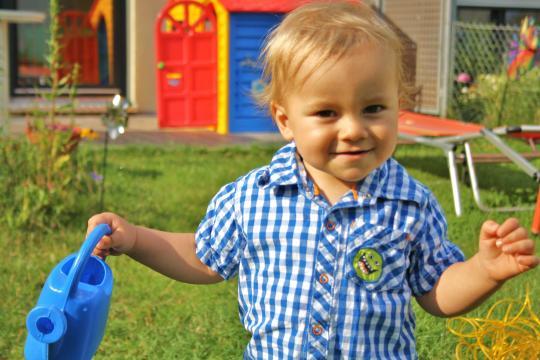 Babyfoto-Wettbewerb April 2015: Simon