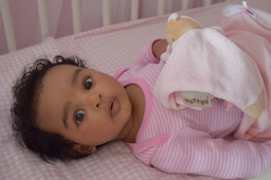 Babyfoto-Wettbewerb April 2015: Sophia
