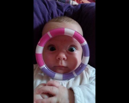 Babyfoto-Wettbewerb Februar 2015: Emma Helene