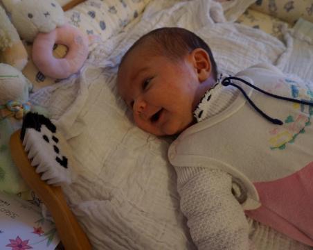 Babyfoto-Wettbewerb Februar 2015: Melina