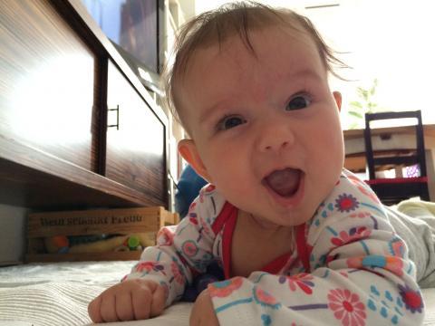 Babyfoto-Wettbewerb Mai 2015: Lina