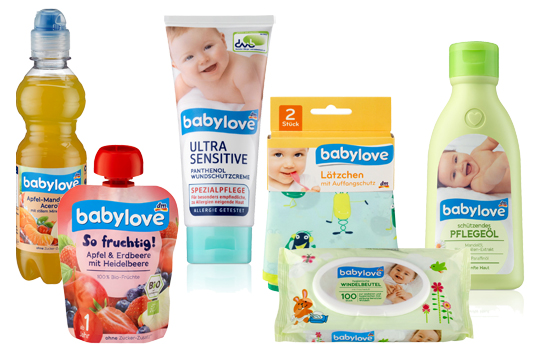 2. Preis im Juni'15: Pflegeset von babylove