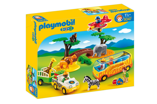 2. Preis im März '15: Große Afrika-Safari Playmobil