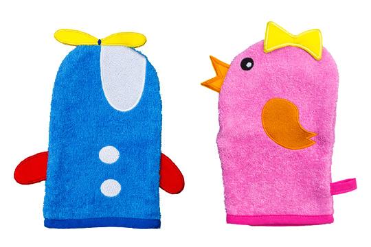 4. Preis im März '15: Wash&Play Waschhandschuhe von Smithy