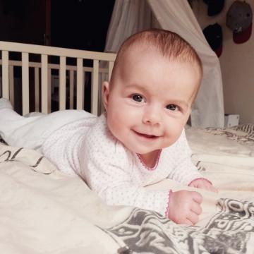 Babyfoto-Wettbewerb Mai 2015: Mila Marie