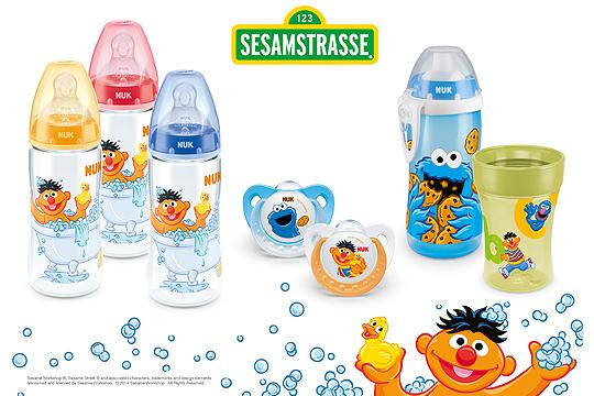 4. Preis: Sesamstraße Edition von NUK