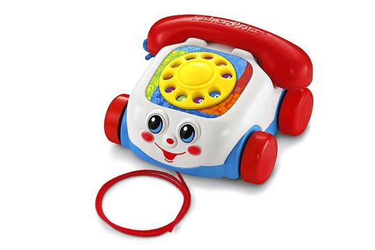 5. Preis im September '15: Plappertelefon von Fisher-Price