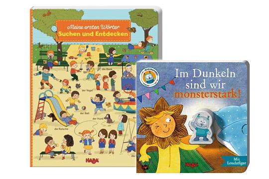 3. Preis im September '15: Kleines Buchpaket von HABA