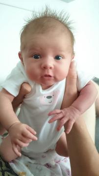 Babyfoto-Wettbewerb September 2014: Elisa