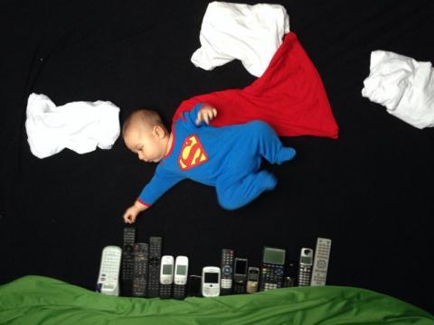 Babyfoto-Wettbewerb September 2014: Liam