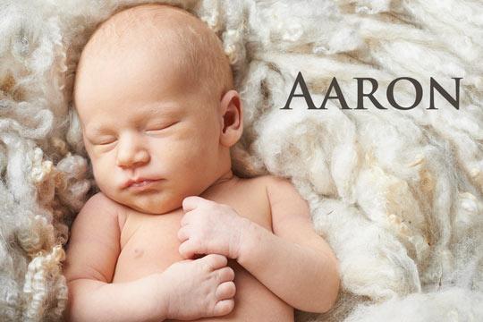 Aaron: Vorname aus der Bibel