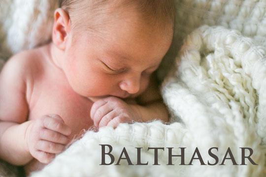 Vornamen aus der Bibel: Balthasar