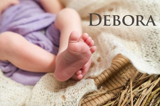 Debora: Biblische Namen