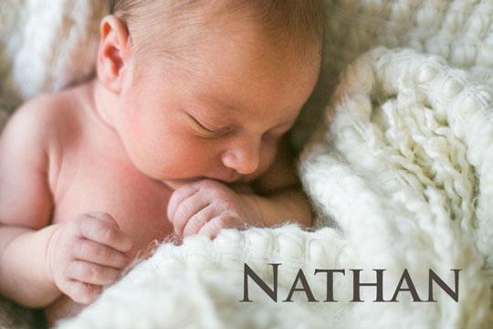 Nathan: Namen aus der Bibel