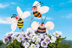 Sommerliche Blumenstecker