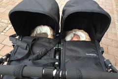 Zwillings-Kinderwagen im Test