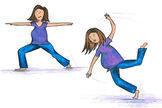Yoga mit Bauch