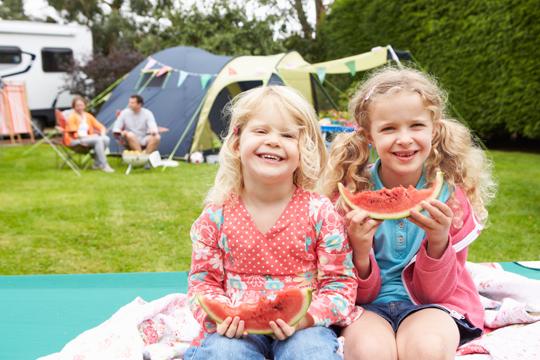 Campingplätze für Familien