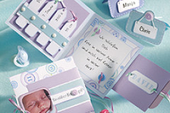 Geburtskarte basteln