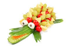 Gurkenkrokodil zum Kindergeburtstag