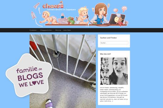Lieblingsblog Chaoshochzwei