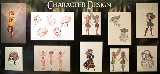Skizzen von Zarina in verschiedenen Posen